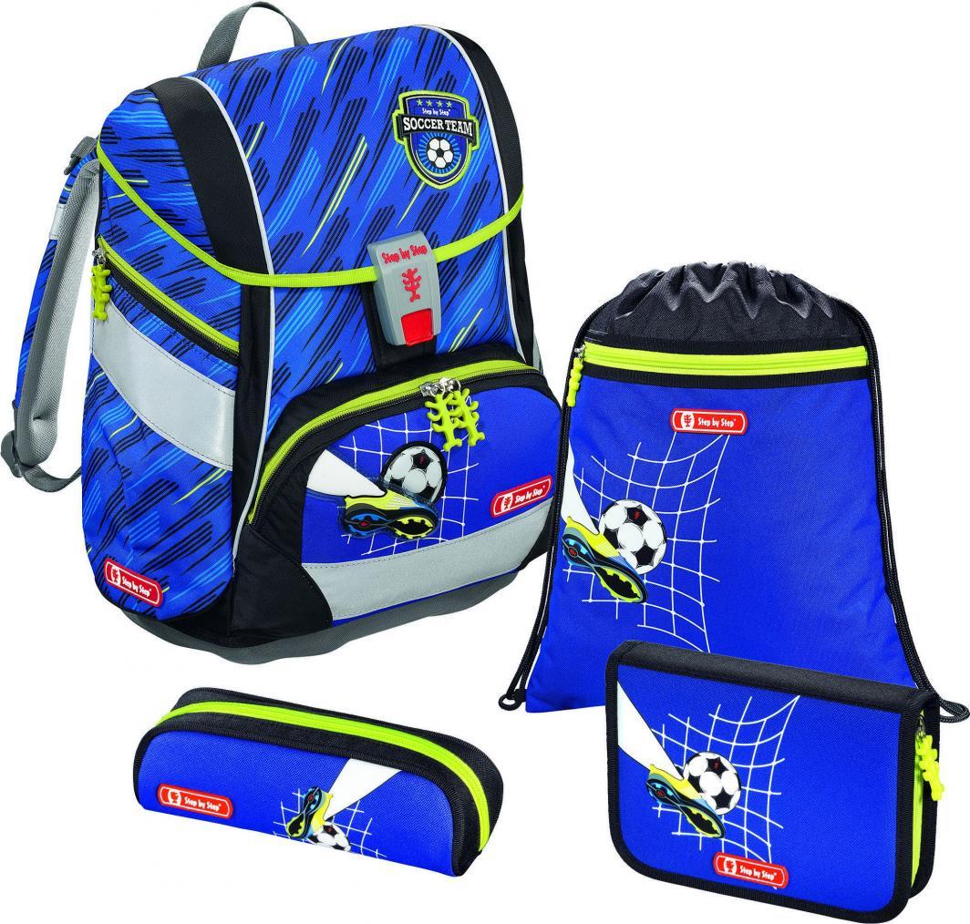 Step by Step Zestaw szkolny 2w1 Soccer Team 4 el. 1