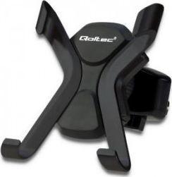 Uchwyt Qoltec Uniwersalny uchwyt samochodowy X-C | na kratkę | Czarny 1