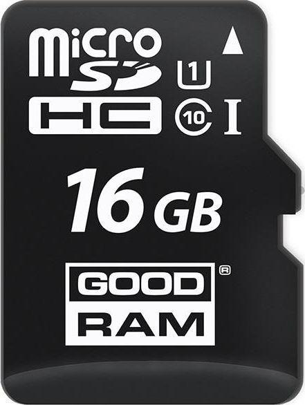 Karta GoodRam MicroSDHC 16 GB Class 10 UHS-I/U1  (M1AA-0160R12) 1