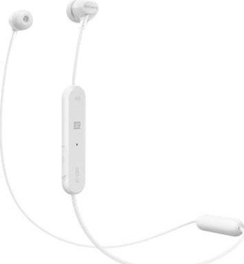 Słuchawki Sony Sony WIC300 Białe 1