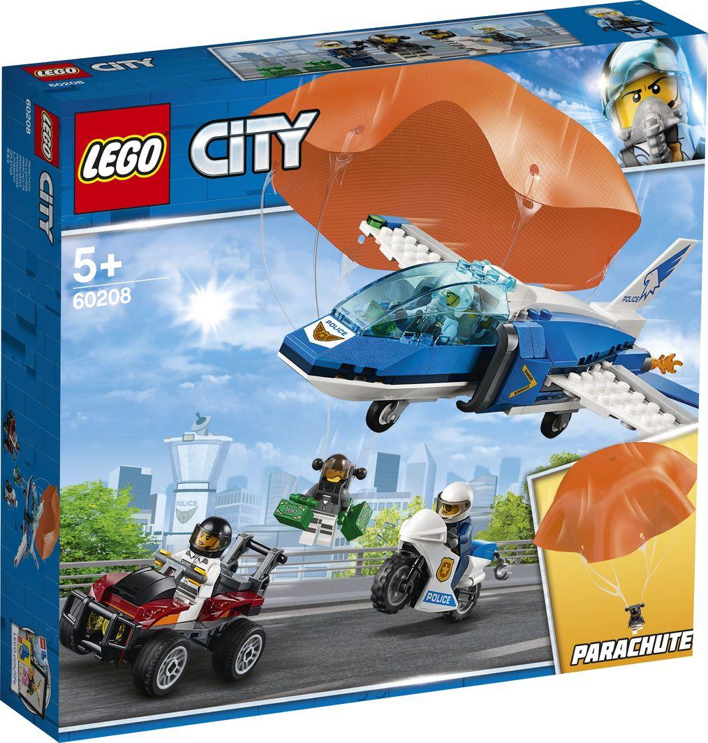 LEGO City Aresztowanie spadochroniarza (60208) 1