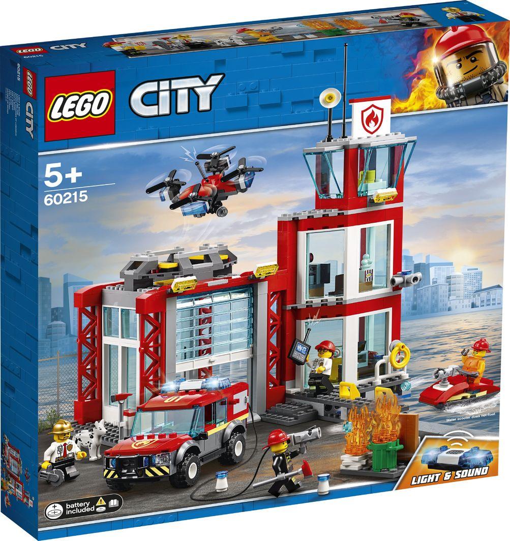 LEGO City Remiza strażacka (60215) 1