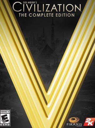 Sid Meier's Civilization V Complete Edition EU PC, wersja cyfrowa 1