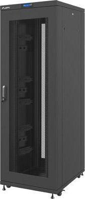 Szafa Lanberg Szafa rack stojąca 19 cali 37U 800x1000mm czarna (drzwi perforowane LCD) -FF02-8037L-23B 1