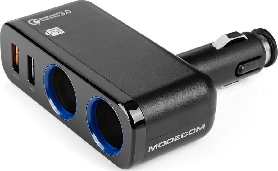 Ładowarka Modecom MC-CG2U2Q Royal Zasilacz USB do samochodu z gniazdem 1