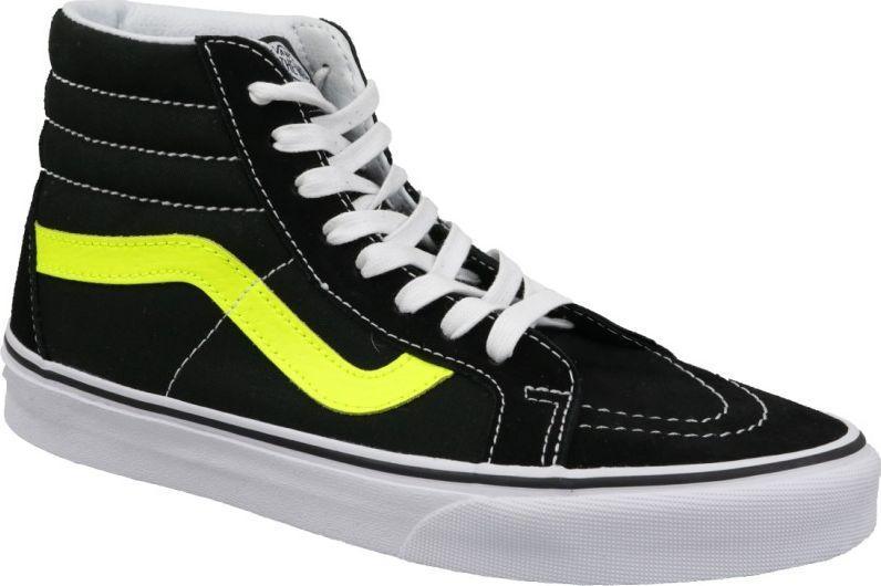 buty vans damskie czarne długie aj lee