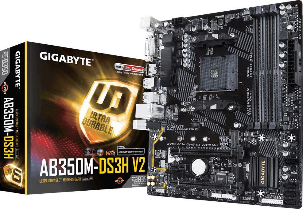 Płyta główna Gigabyte GA-AB350M-DS3H V2 1