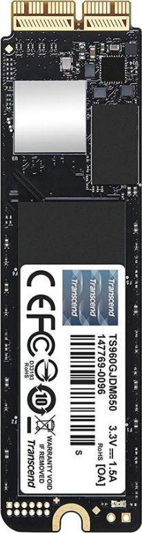 Dysk SSD Transcend JetDrive 850 960 GB Macbook SSD PCI-E x4 Gen3 NVMe (TS960GJDM850) 1
