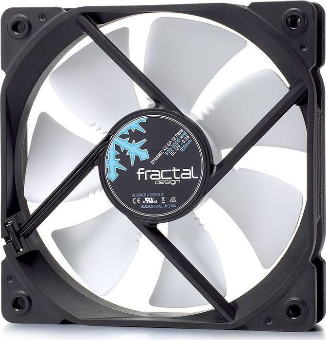 Wentylator Fractal Design Dynamic X2 GP-12 PWM Czarno-biały (FD-FAN-DYN-X2-GP12-PWM-WT) 1