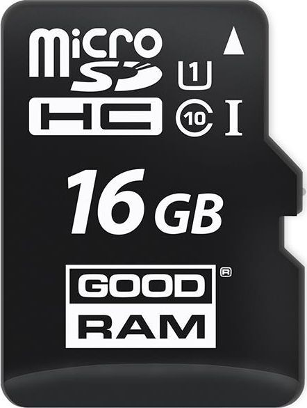 Karta GoodRam MicroSDHC 16 GB Class 10 UHS-I/U1  (M1A0-0160R12                   ) 1