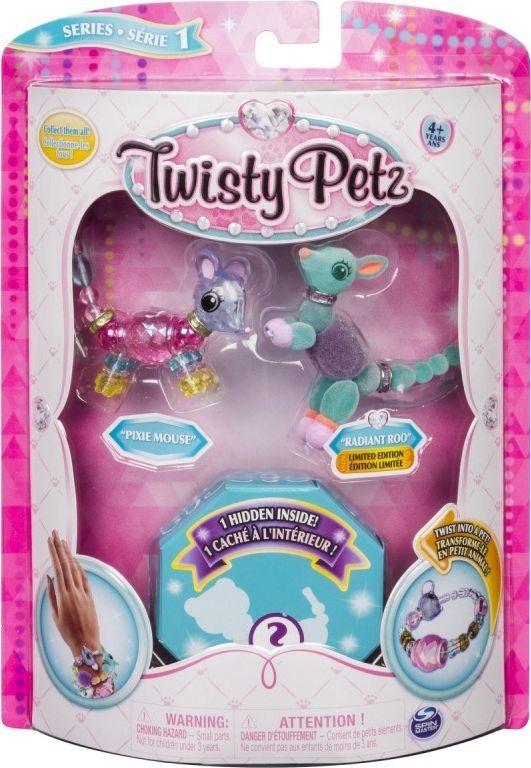 Spin Master Bransoletki Twisty Petz - 3-pak Mysz, kangur, jeleń-6044203/20103207 1