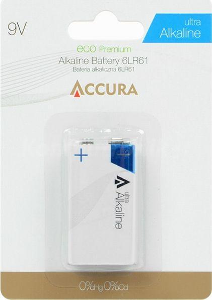 Accura Bateria 9V Block 1szt. 1