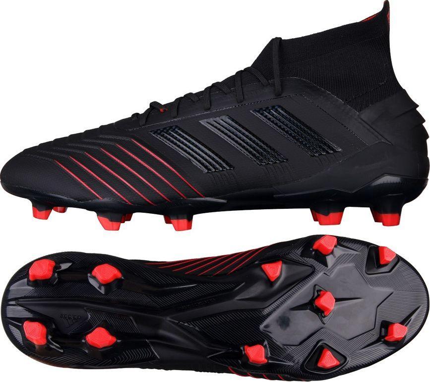 Adidas Buty piłkarskie Predator 19.1 FG czarne r. 42 23 (BC0551) ID produktu: 5627440