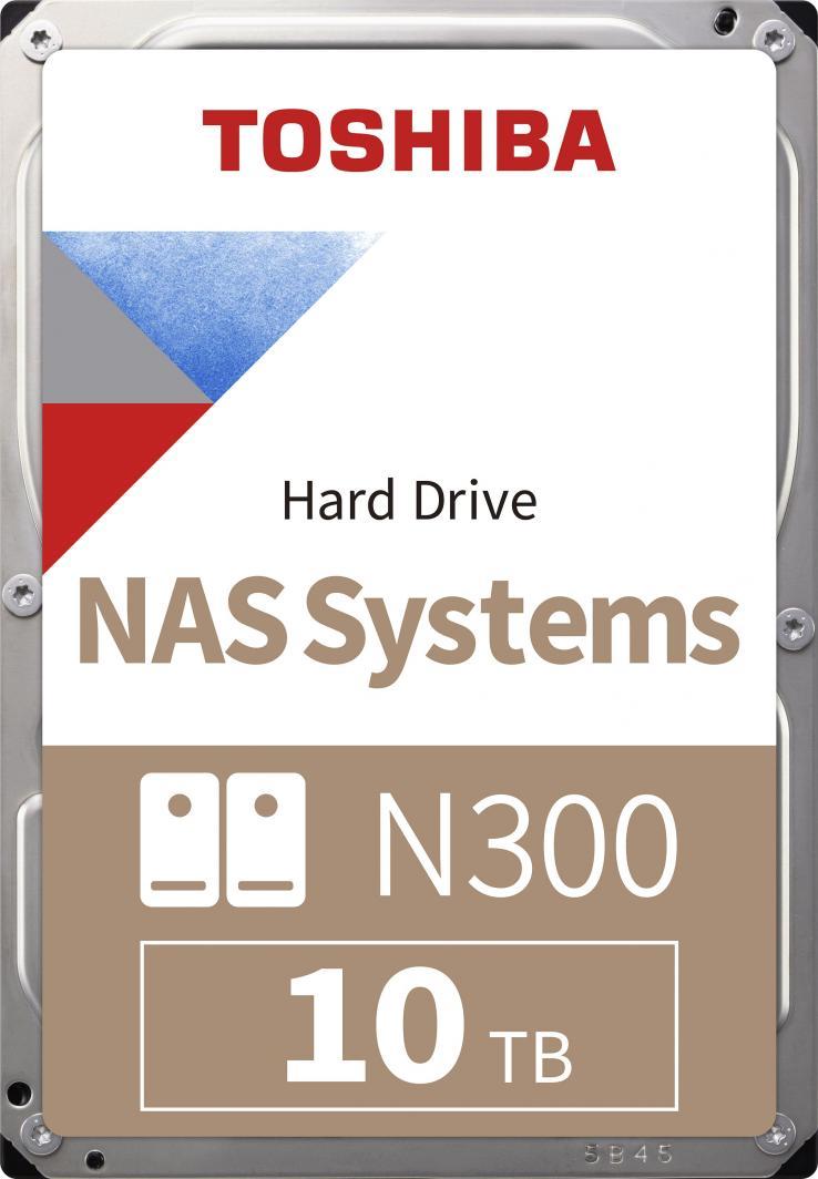 Dysk serwerowy Toshiba N300 10 TB 3.5'' SATA III (6 Gb/s)  (HDWG11AEZSTA) 1