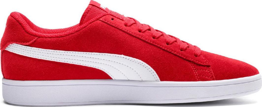 Puma Buty męskie Smash v2 czerwone r. 42.5 ID produktu: 5634296