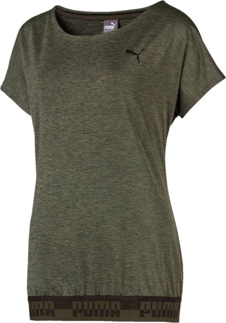 przyjazd ładne buty wyprzedaż resztek magazynowych Puma Koszulka damska Soft Sport Bubble zielona r. S ID produktu: 5634906