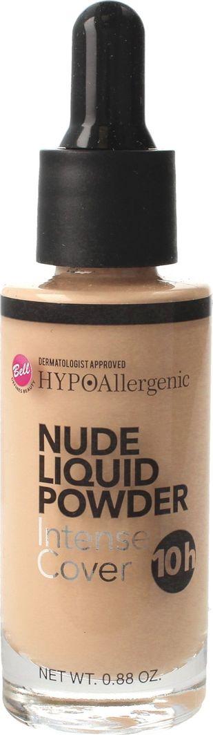 BELL Hypoallergenic Puder w płynie Nude Liquid Powder nr 03 Natural 25g 1