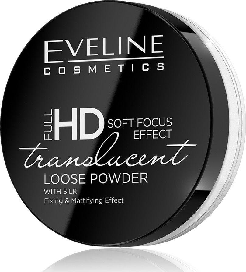 Eveline Full HD Puder sypki Soft Focus Effect Translucent 6g 1