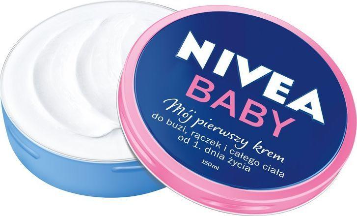 Nivea Nivea Baby Mój Pierwszy Krem do buzi,rączek i całego ciała 150ml 1