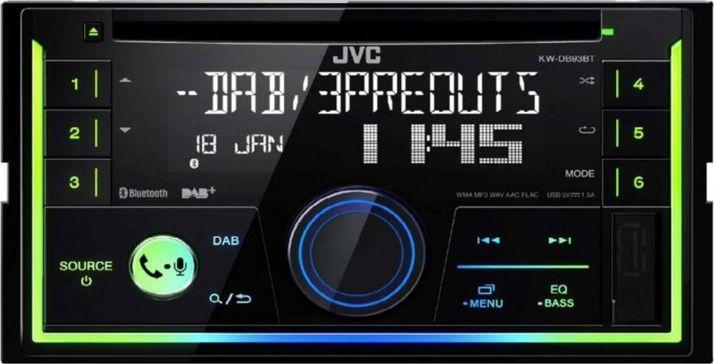 Radio samochodowe JVC KW-DB93BT 1