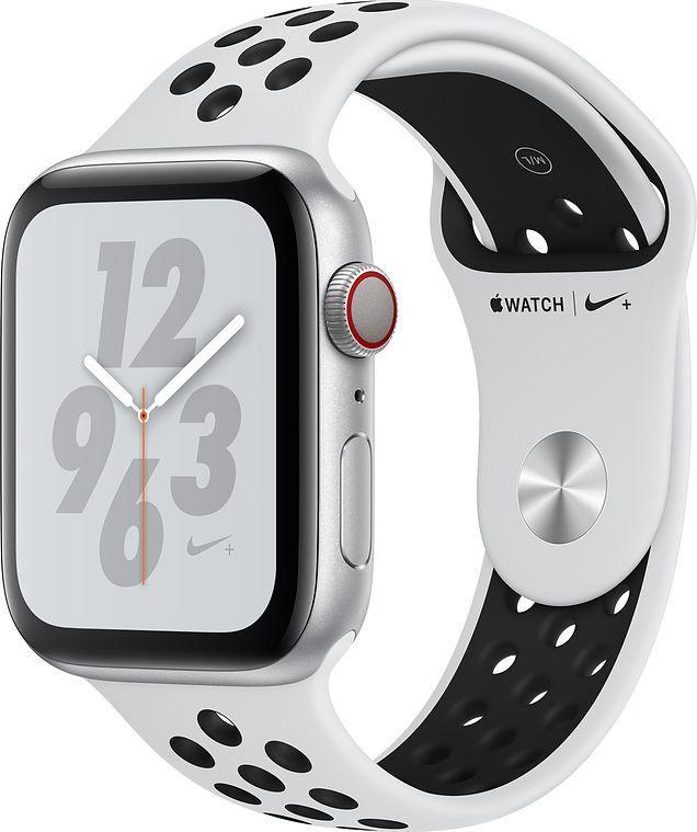 Smartwatch Apple Watch Nike+ 4 GPS+Cellular 40 mm Silver Alu Czarno-biały  (MTX62FD/A) 1