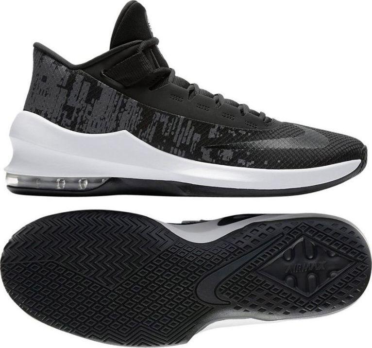 Nike Buty m?skie Air Max Infuriate 2 Mid czarne r. 46 (AA7066 001) ID produktu: 5640978