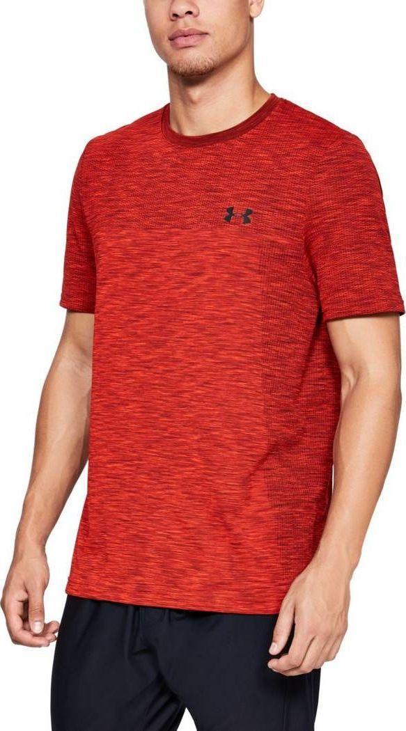 KoszulkaBokserka Sportowa Czerwona, T shirt Obcisły 20 1 xl