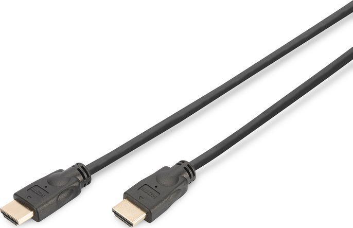 Kabel Digitus HDMI - HDMI 5m czarny (DK-330123-050-S) 1