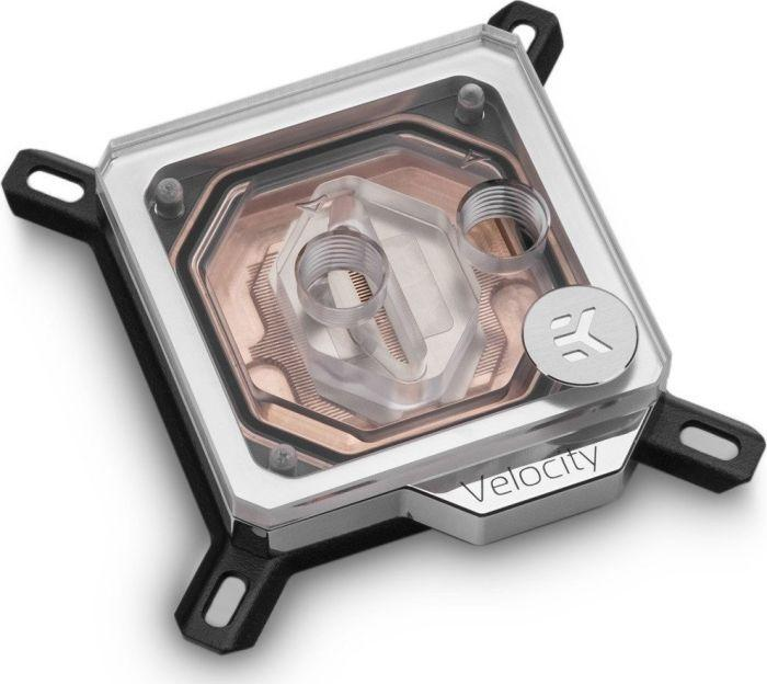 EK Water Blocks EK-Velocity Intel - Kupfer + Plexi (WAEK-1565) 1