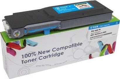 Cartridge Web Toner Cyan Xerox Phaser 6600 / WorkCentre 6605 / 106R02233 / 6000 stron / zamiennik uniwersalny 1