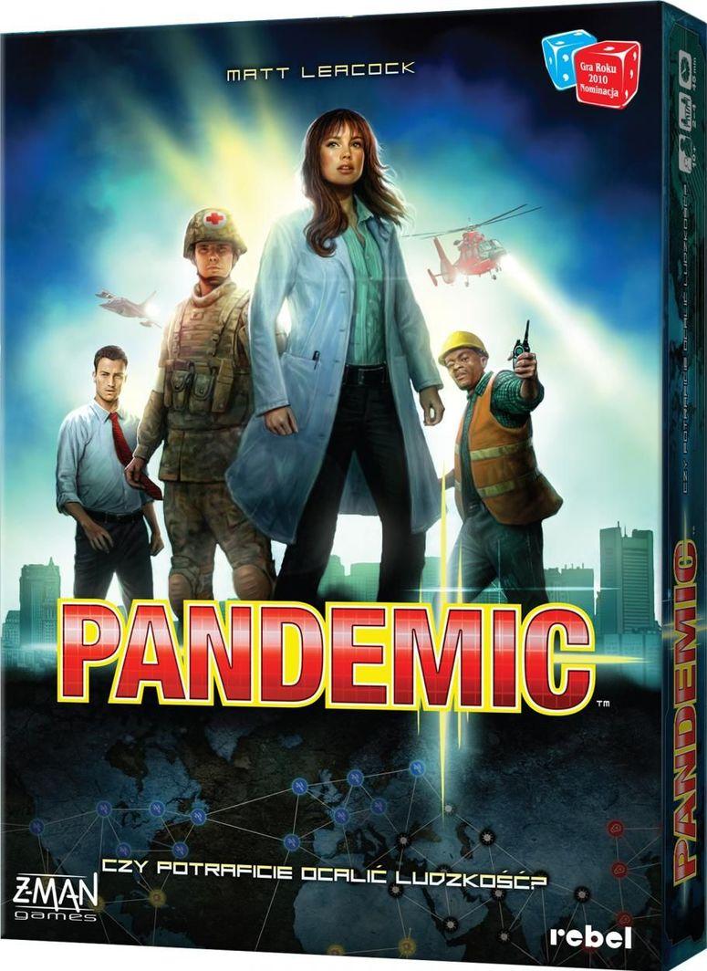 Rebel Pandemic wersja polska, nowa edycja 1