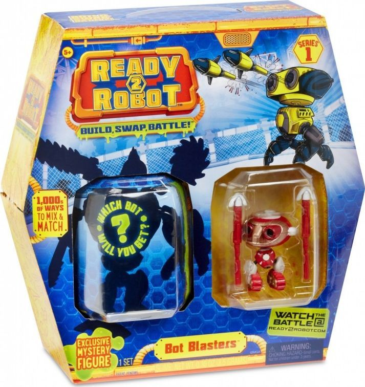 MGA Figurka Ready2Robot Bot Blasters (GXP-665946) 1