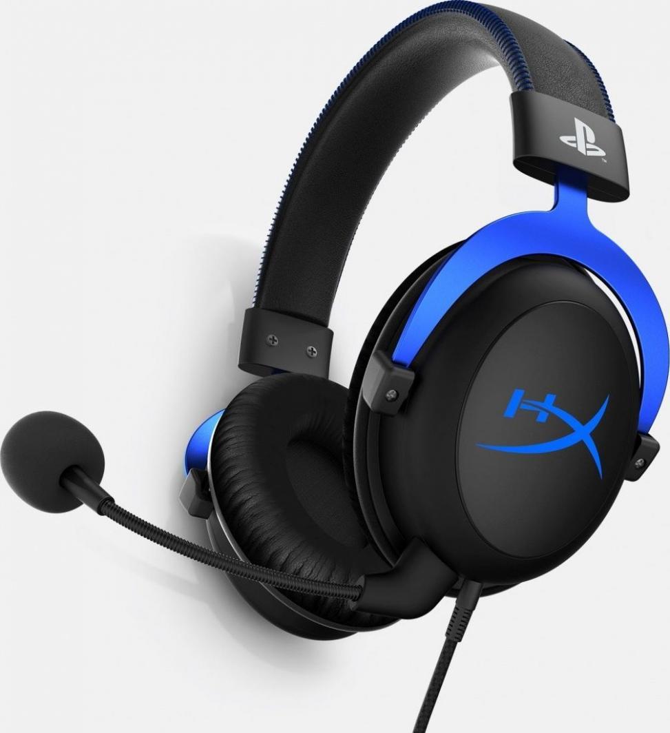 Słuchawki HyperX Cloud PS4 (PS4 -HX-HSCLS-BL/EM) 1