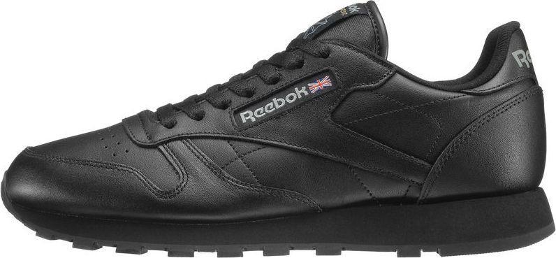 Reebok Buty męskie Classic Leather czarne r. 47 (2267) ID produktu: 5654525