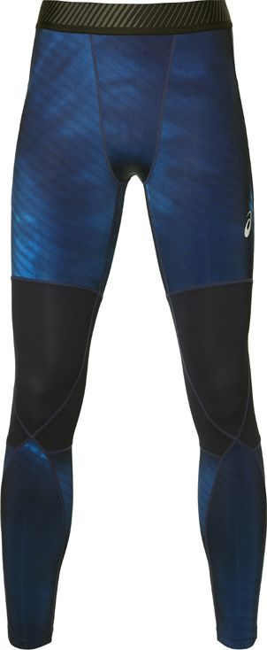 Asics Legginsy męskie Base Layer Graphic Tight granatowe r. M (2031A197 400) ID produktu: 5654632