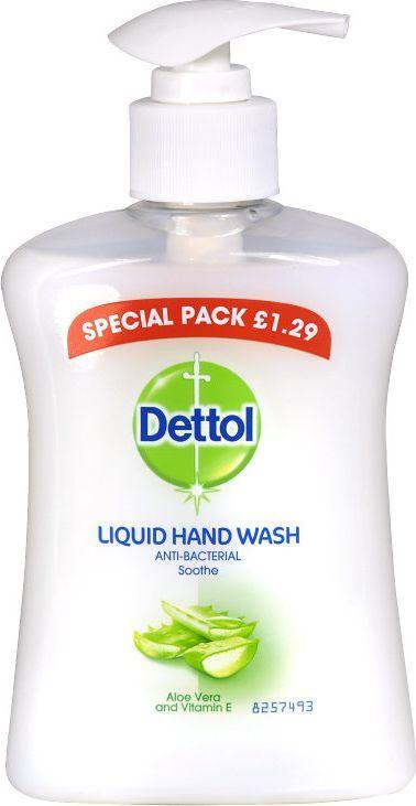Dettol Nawilżające mydło w płynie z ekstraktem z aloesu 250 ml 1