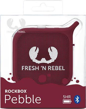 Głośnik Fresh n Rebel Rockbox Pebble RUBY (001845750000) 1