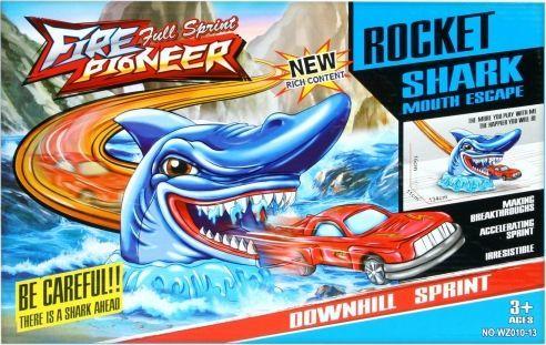 Mega Creative Tor samochodowy rekin z akcesoriami (419299) 1