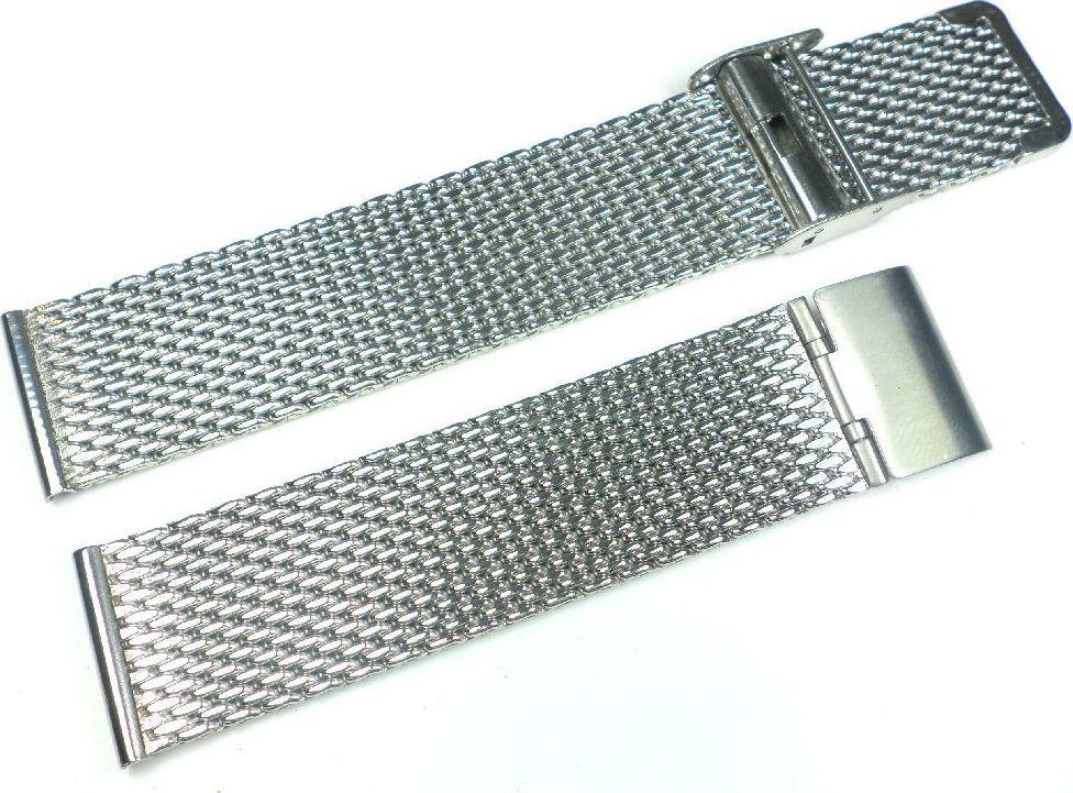 Diloy Bransoleta stalowa do zegarka Diloy MESH10-20-0 20 mm uniwersalny 1