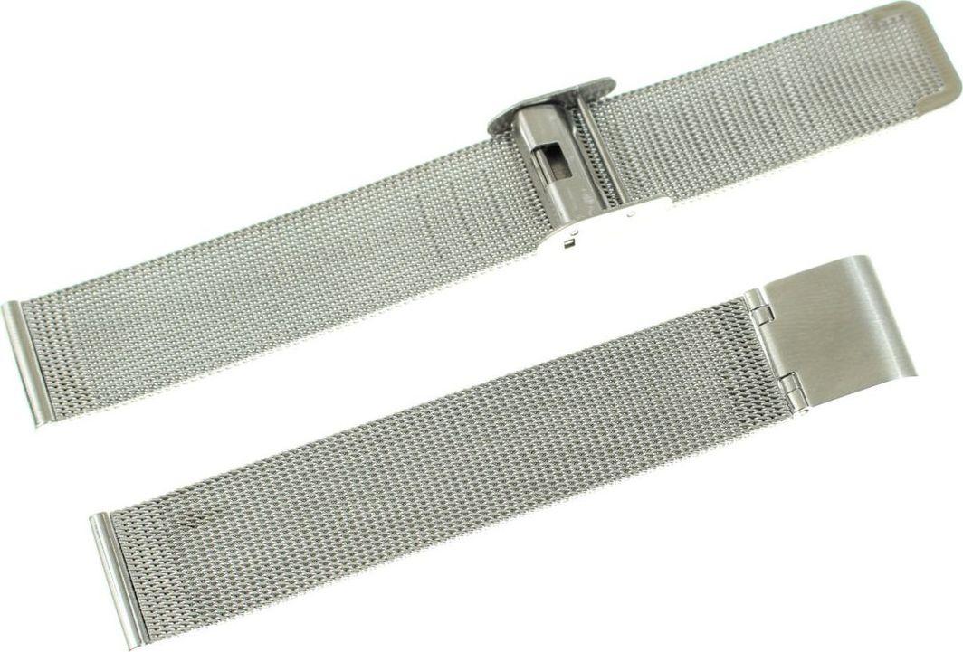 Tekla Bransoleta stalowa do zegarka 18 mm Tekla BC1.18 Mesh uniwersalny 1