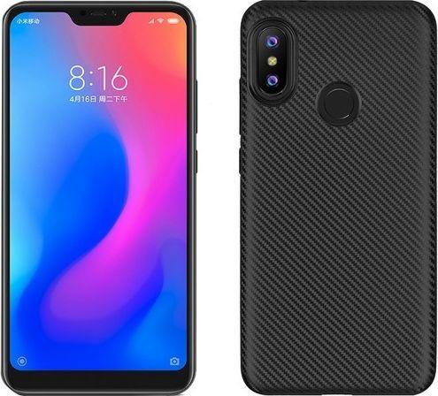 Etui Carbon Fiber Xiaomi Mi A2 Lite czarny/black 1