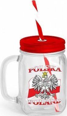 BGtech Słoik Polska flaga 125ml  1