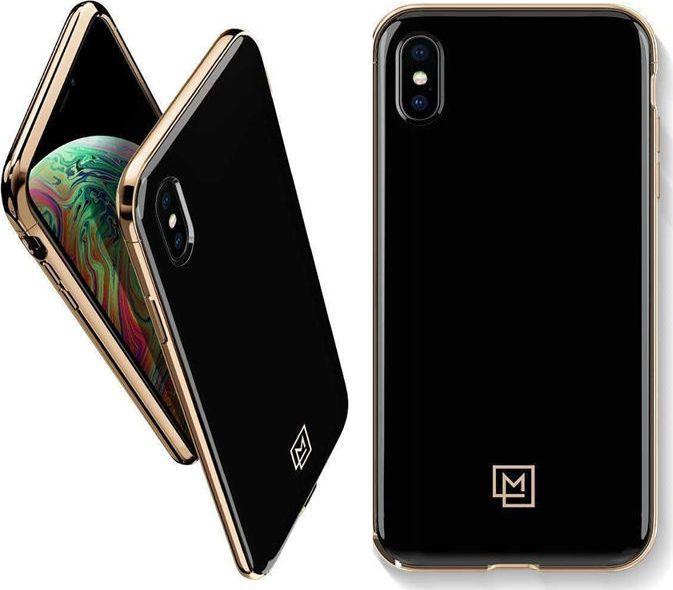 Spigen Nakładka LA Manon do Apple iPhone Xs Max czarno-złota 1