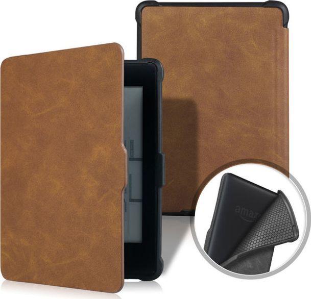 Pokrowiec Alogy Etui Alogy Smart Case Kindle Paperwhite 1/2/3 Brązowe uniwersalny 1
