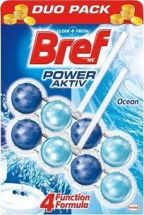 "BREF WC valiklis-gaiviklis ""BREF Power Aktiv Ocean"" 2x50g 1"