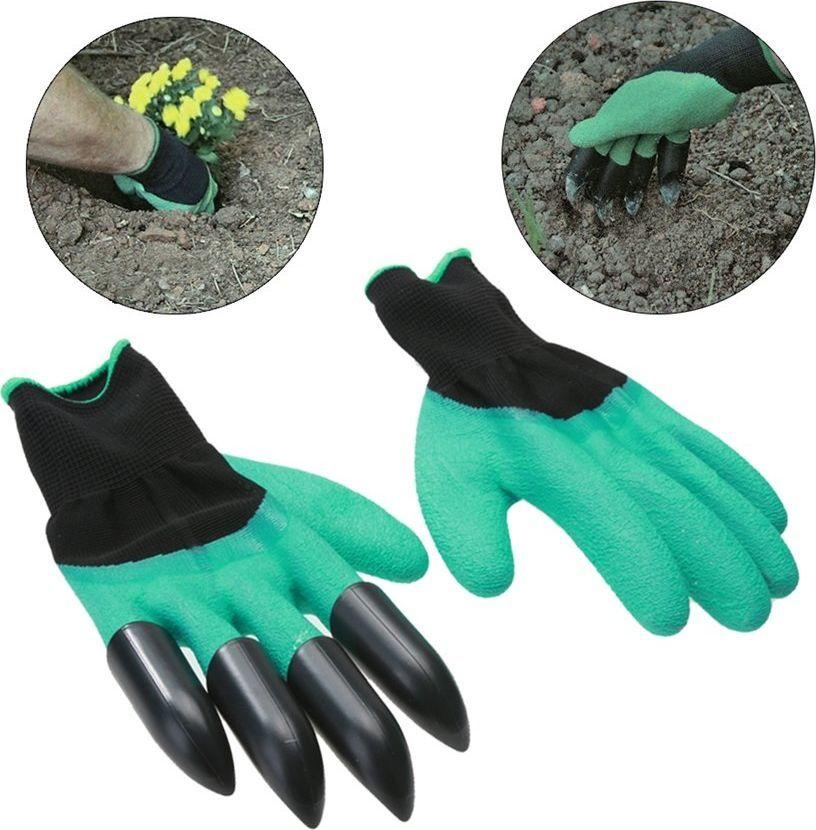 Rękawiczki ogrodowe 2w1 (16583625) 1