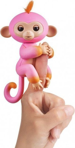 Fingerlings 2Tone Monkey Summer Pink with Orange 1