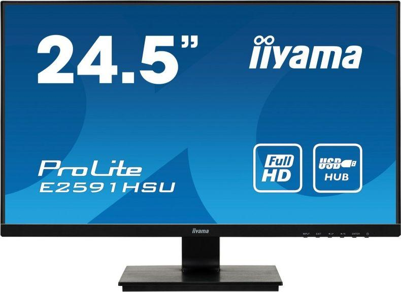 Monitor iiyama ProLite E2591HSU-B1 1