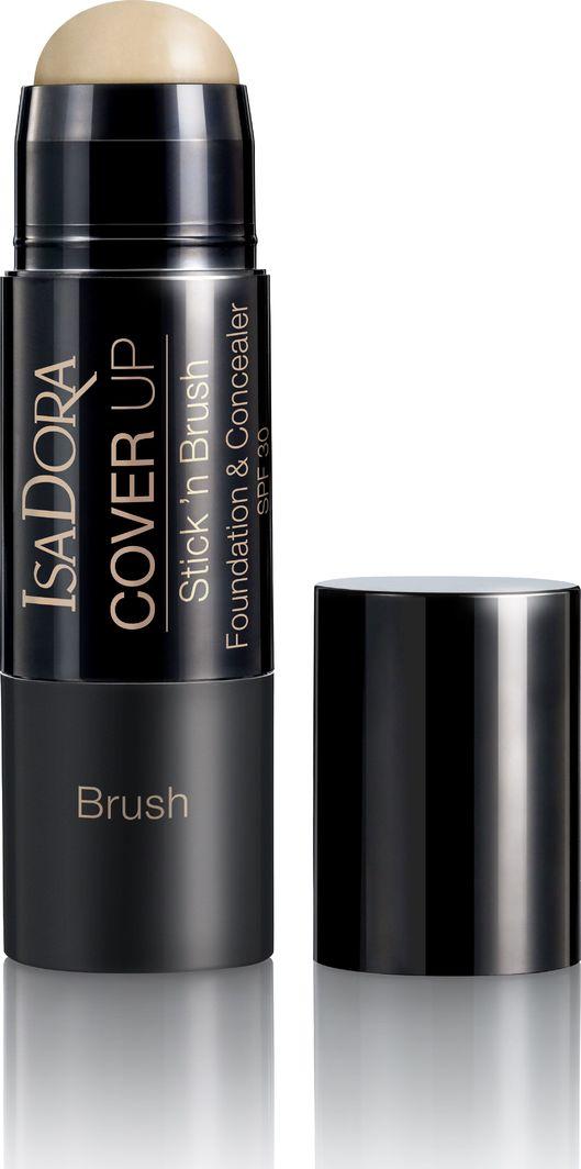 IsaDora Maskuojamoji priemonė IsaDora Cover Up Stick'n Brush 8 g 1