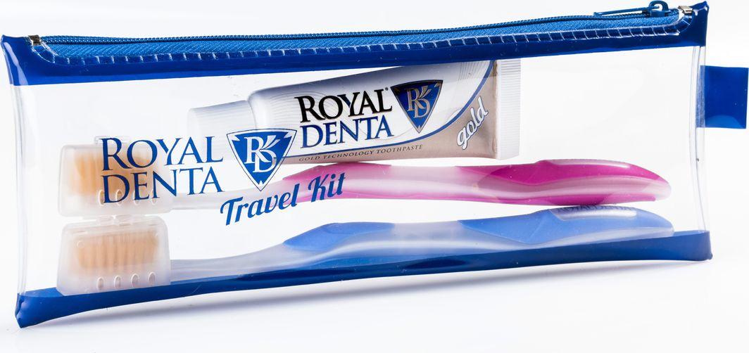 Royal Denta Zestaw Travel Kit Gold 1